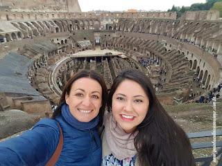 Do alto do Terceiro Anel do Coliseu, passeio aos Subterrâneos do COliseu