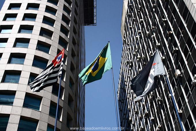 Bandeiras do Brasil, São Paulo e Citibank