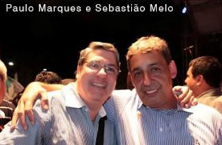 PMDB - Paulo Marques e Sebastião Melo vice Prefeito