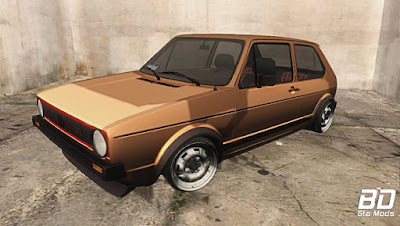 Mod , Carro , VW Golf MK1 para GTA San Andreas, GTA SA