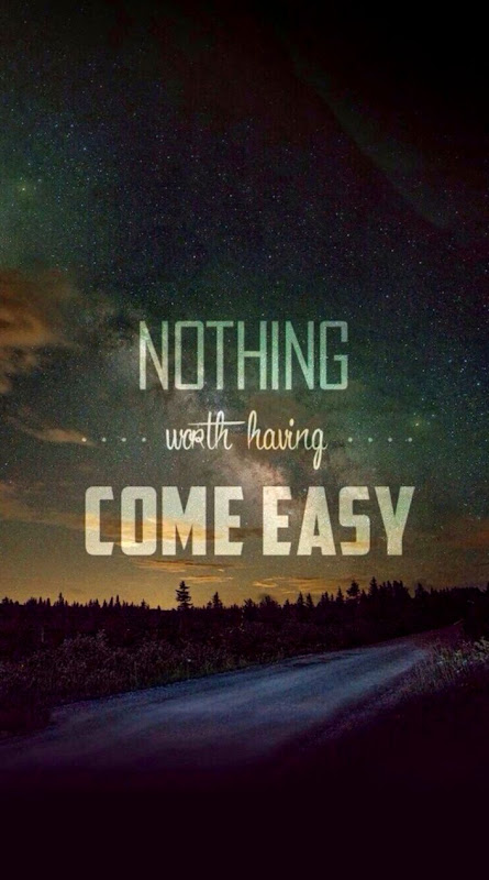 Quotes Worth Is Not Easy Wallpaper Silver Wallpapers