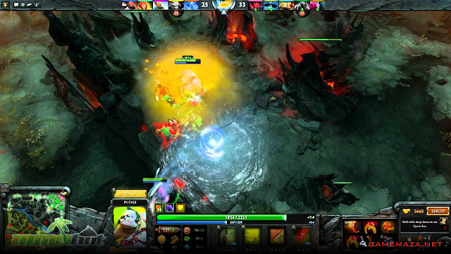 Dota 2 Gameplay Screenshot 1