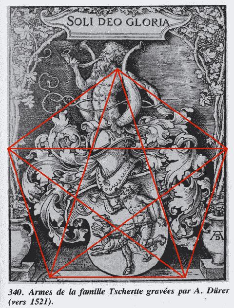 Albrecht Dürer et la géométrie sacrée.