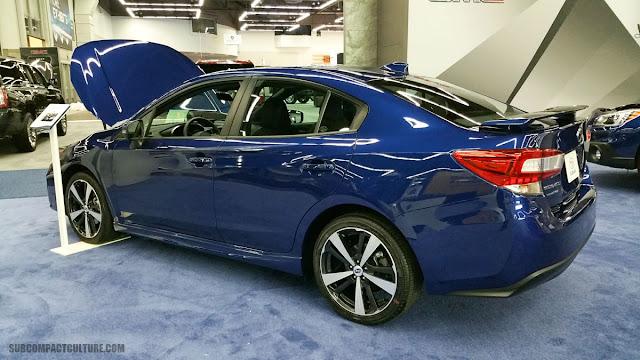 2017 Subaru Impreza Sedan - SUBCOMPACT CULTURE