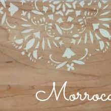 DIY Moroccan Cutting Board & How to Display Your Cutting Boards