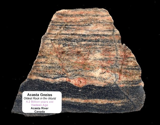 the Oldest Known Rock on Planet Earth