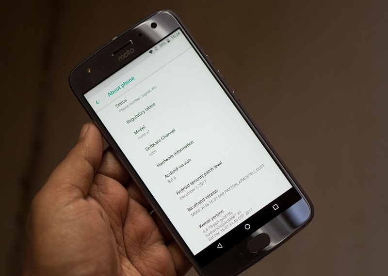 Motorola has added the Moto X4 6 GB RAM version, running