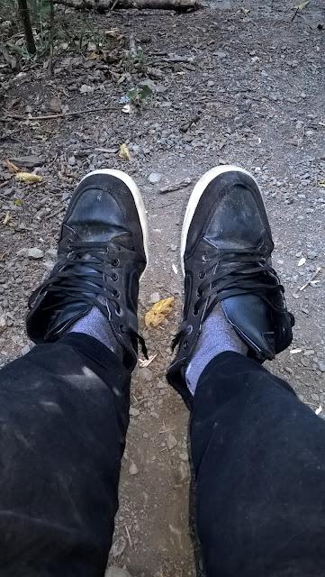 Kastamonu'da Küre Dağları, Valla Kanyonunda ayakkabılar telef oldu!