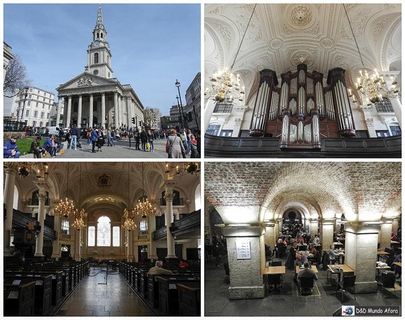 Igreja St. Martin - Diário de Bordo - 5 dias em Londres