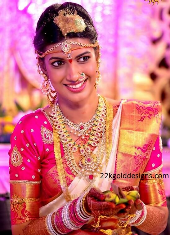 Stunning South Indian Bridal Jewellery