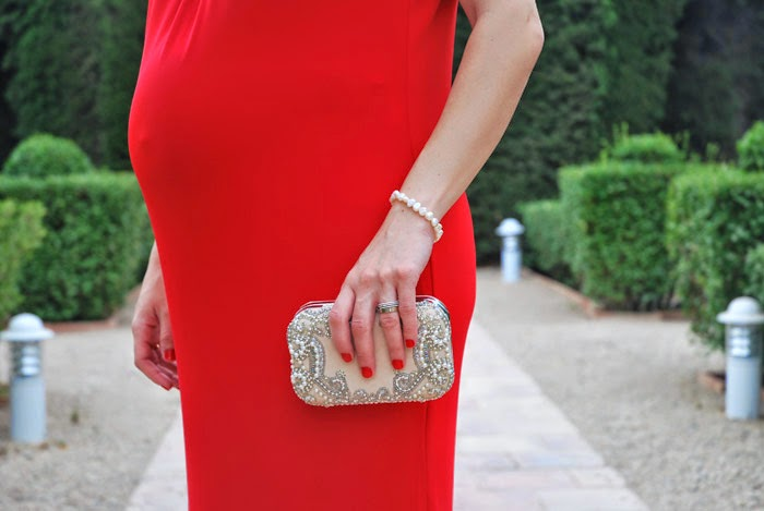 Nude Clutch Details