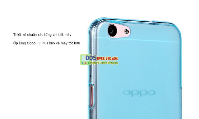Ốp lưng điện thoại Oppo F3 plus silicone dẻo