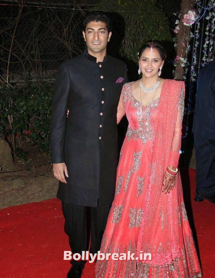 Ahana Deol, Varun Vora, Ahana Deol Wedding & Reception Pics