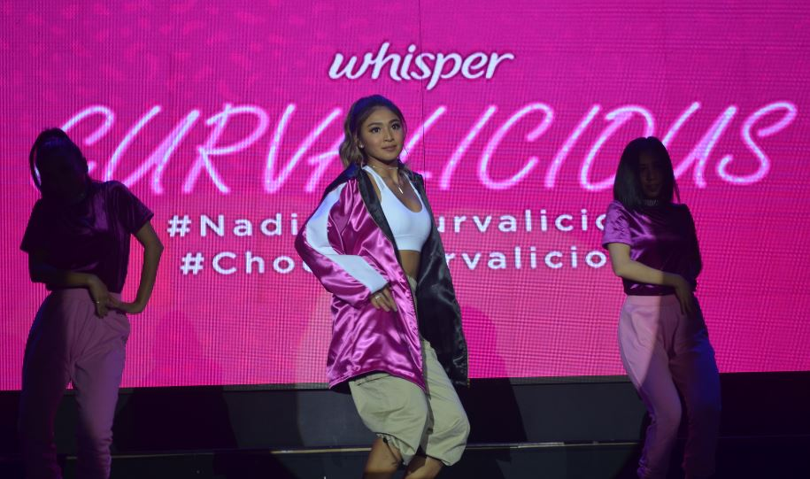Nadine Lustre leads the Curvalicious Movement