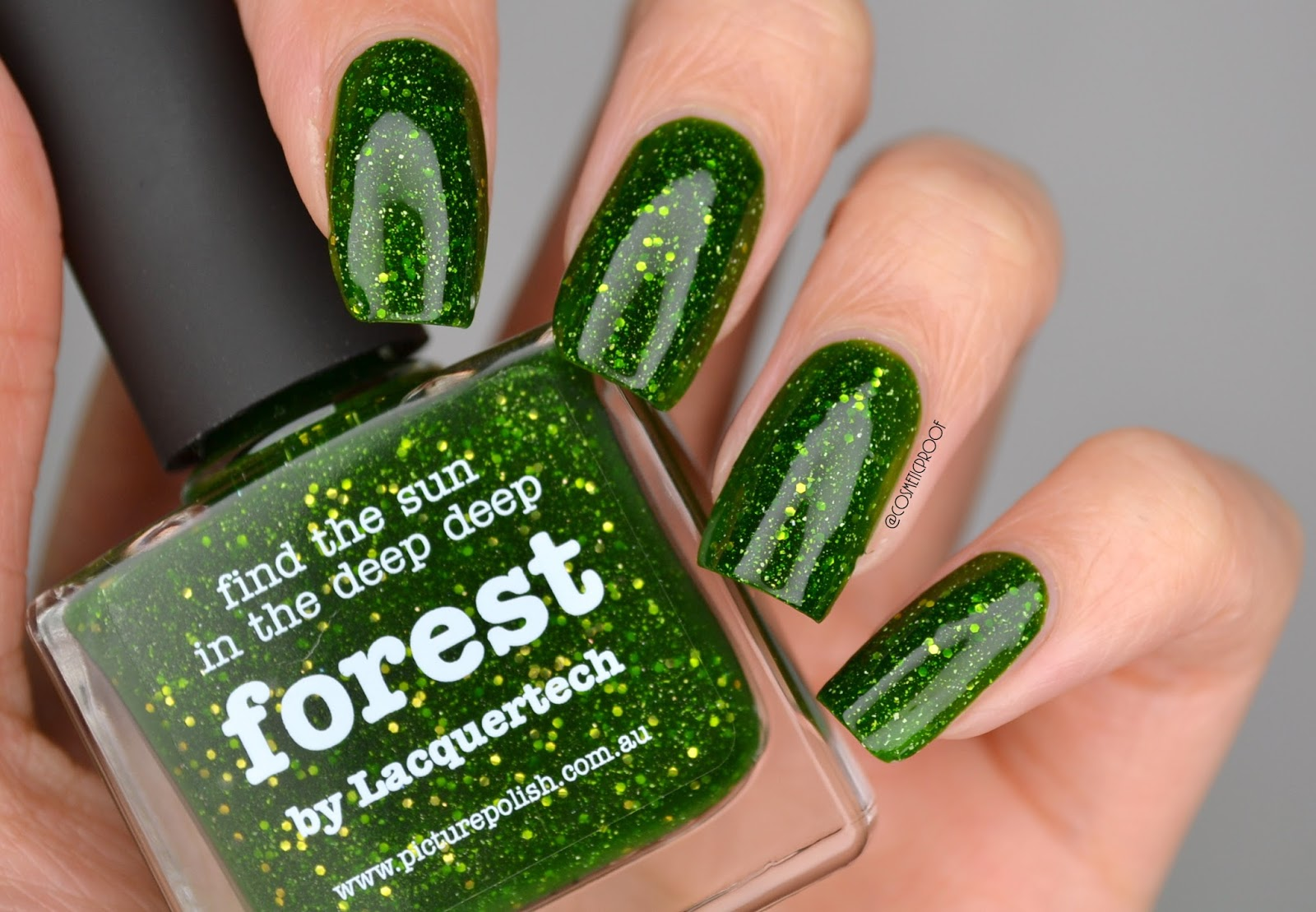 Nails Saying Hello To Fall With Picture Polishs Forest