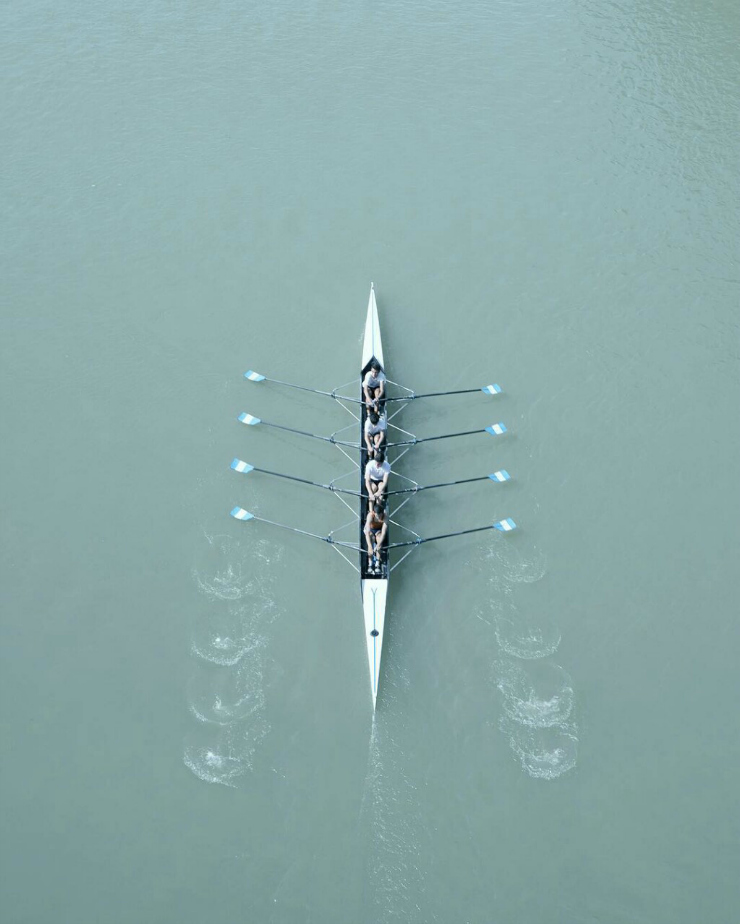 rowing all eight #crew
