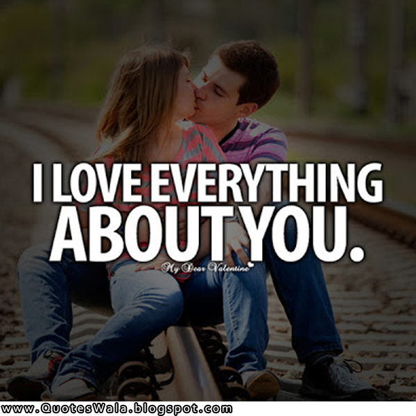 I Love You Quotes For Her: Daily Quotes At QuotesWala