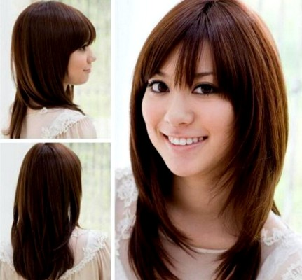 Model Rambut Layer Ala Korea