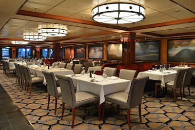 Cagney's Steakhouse On Board Norwegian Cruise Line's Newly Refit Norwegian Pearl
