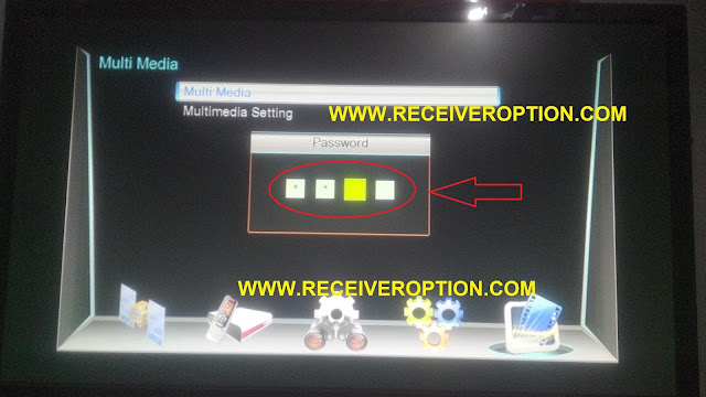 NEOSET I 570 HD RECEIVER POWERVU KEY OPTION