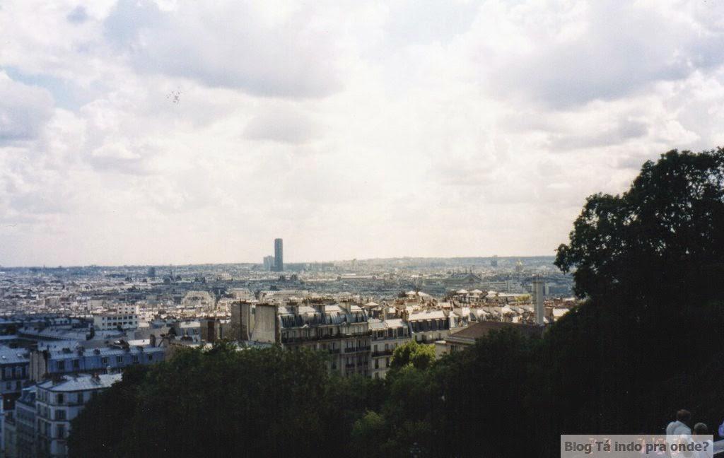 vista da Sacré Coueur Paris