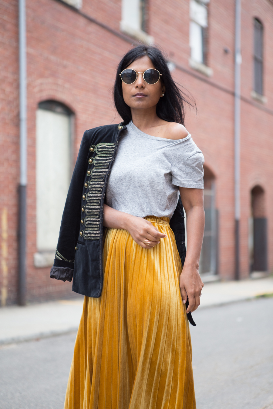 nsale, fall style, summer style, velvet, style trends, outfit ideas, style tips, petite fashion, pleats, bow shoes, statement pieces, colorful style, pre-fall 2017