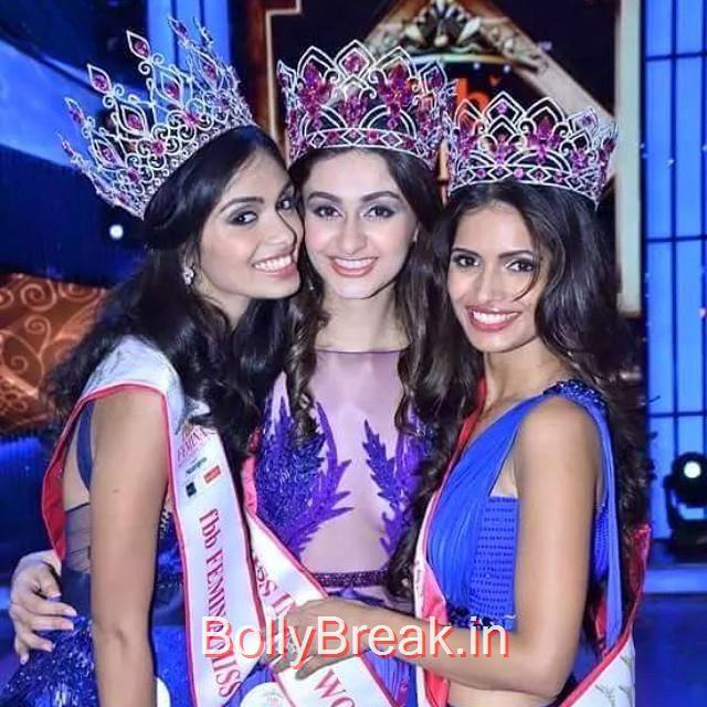 Afreen Racheal Vaz , Aditi Arya, Vartika Singh , Miss India Aditi Arya Photo Gallery 2015