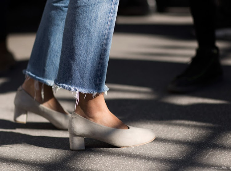 Trends Spring 2016: Frayed Jeans