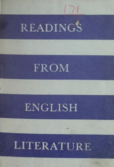 Readings From English Litrature PDF Book