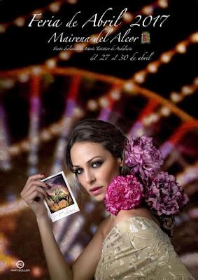 Feria de Mairena del Alcor 2017 - Mary Guillén - Modelo: Eva González