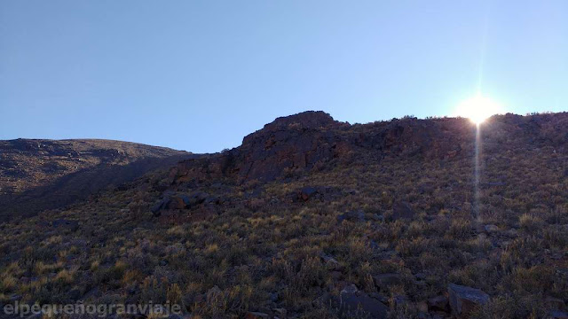 ascenso, cerro bronce, cumbre, cuatro mil