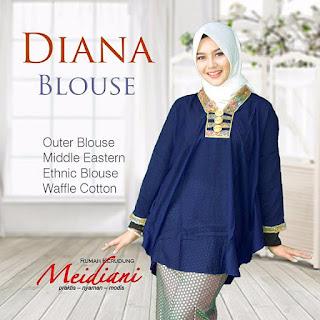 Baju Kondangan Blouse diana