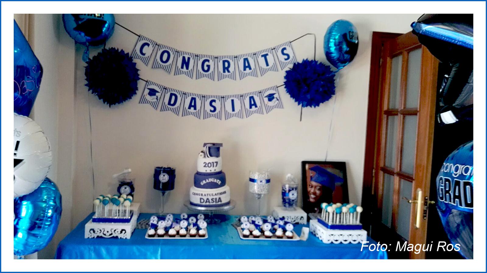 Baby nina fiestas graduaci n dasia for La casa sueca decoracion