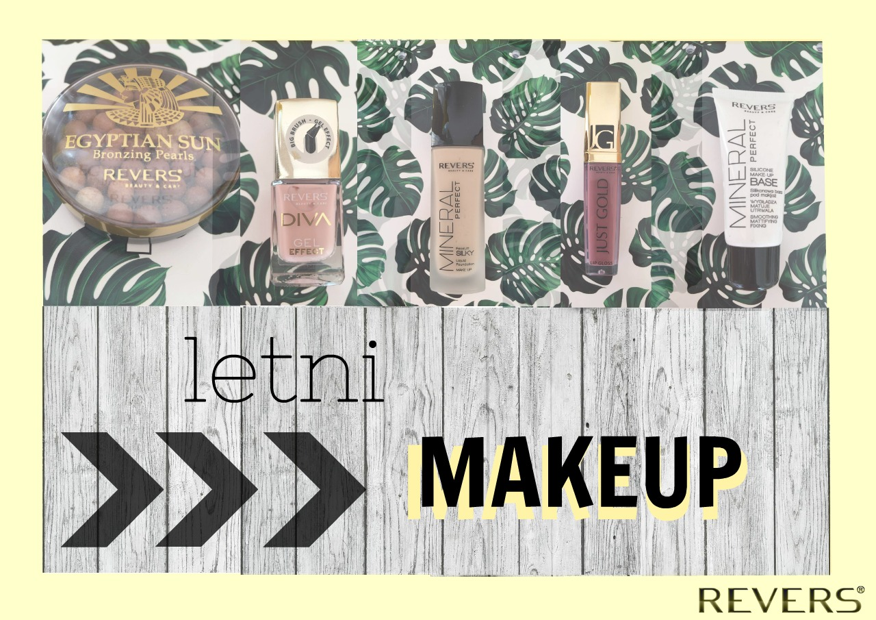 LETNI MAKEUP | REVERS COSMETICS