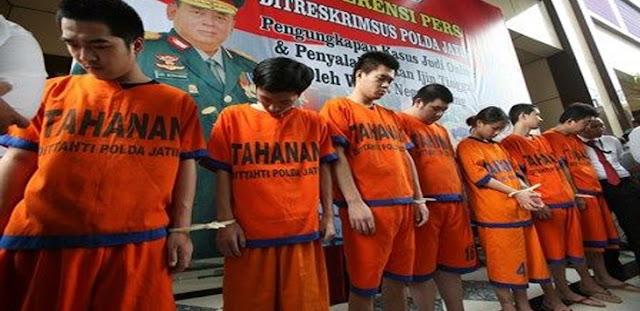 7 WNA Tiongkok Jadi Operator Judi Online di Surabaya, Sehari Untung Rp 10 Juta