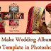 How To Make Wedding Album Design 12x30 Template