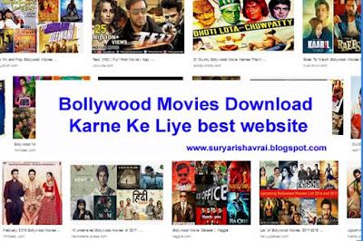 HD Bollywood Movies Download Karne ke Liye 5Best Websites