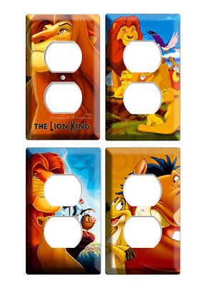 Lion King Outlet Covers