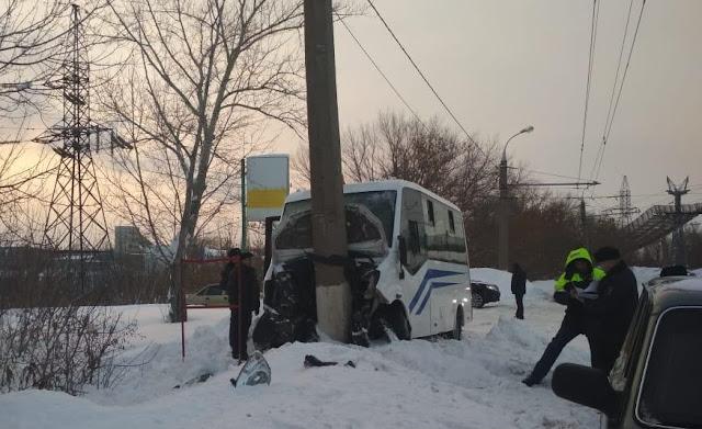 В Стерлитамаке в ДТП с автобусом пострадали 13 человек