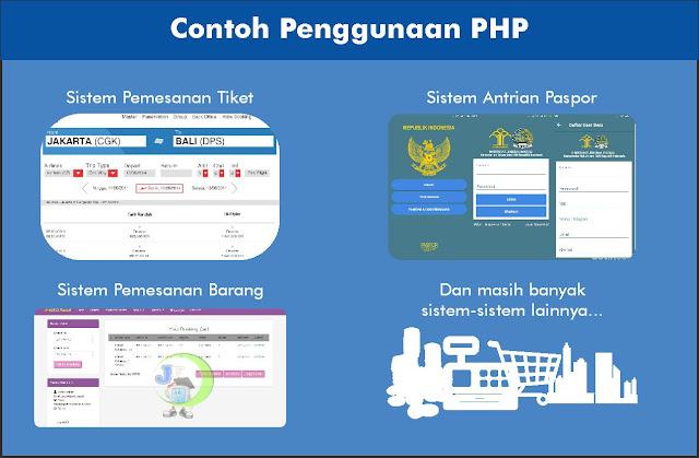 bahasa pemrograman yang dipakai secara luas untuk penanganan pembuatan dan pengembangan  1. Pengertian PHP dan Peran PHP dalam Web