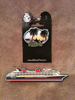Giveaway Friday Castaway Cay pin Disney Dream magnet