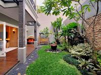 Jasa pembuatan taman di Denpasar - Bali | pembuatan kolam ikan koi minimalis murah di Bali
