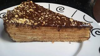 Recette du gâteau L'arbre (fais par Ana Nahou)