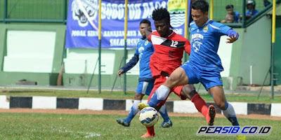 Persib Bandung Menang 3-1 atas Super Progresif (Video Gol)