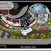 مخطط مشروع منتجع سياحي بشكل مميز اوتوكاد dwg