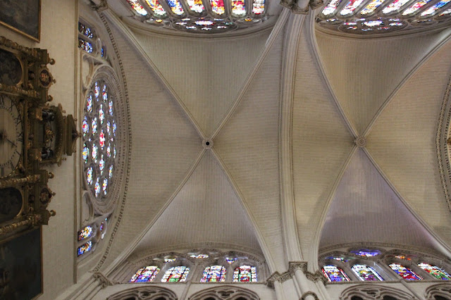 Vidrieras de la catedral de Toledo