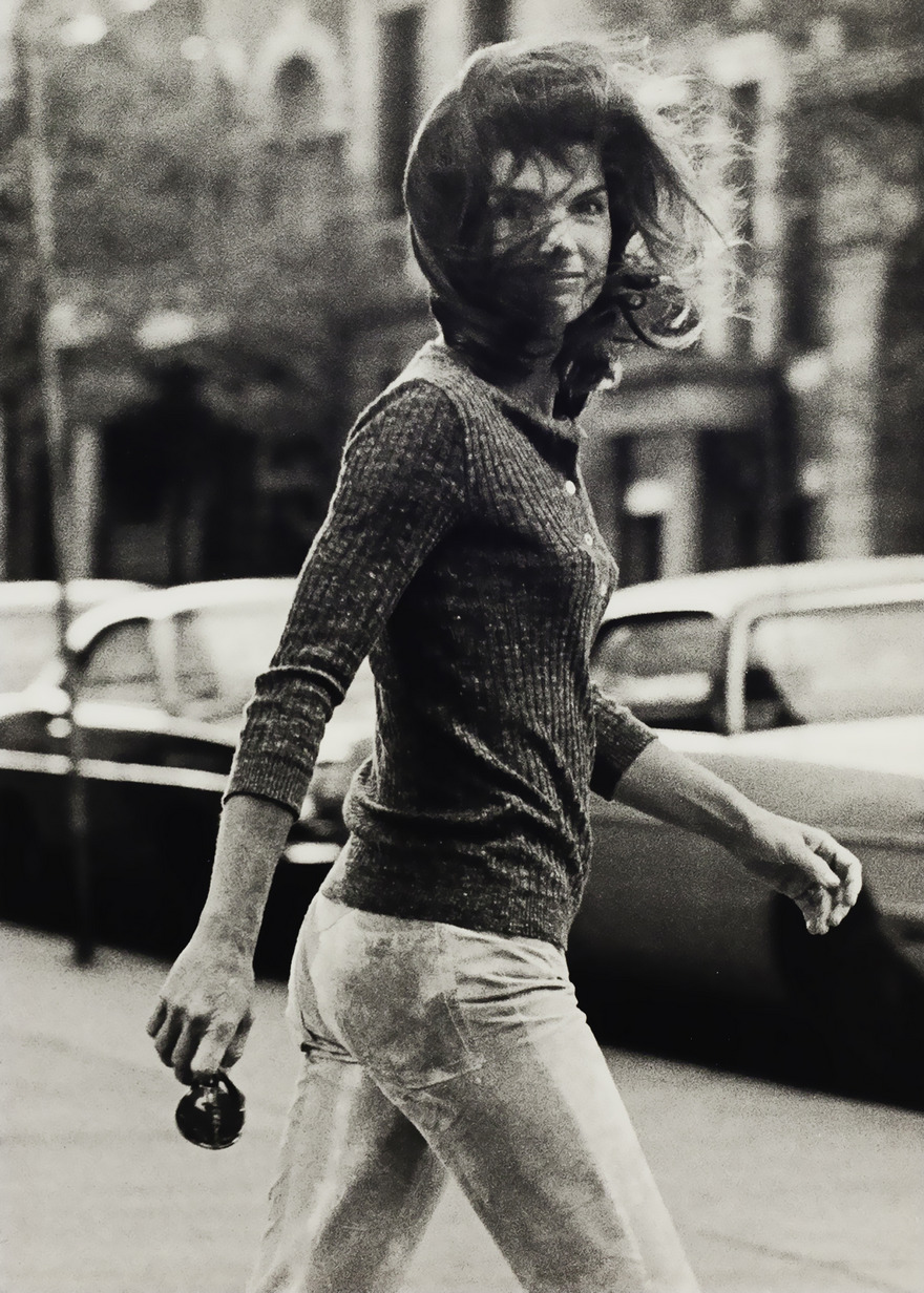 #56 Windblown Jackie, Ron Galella, 1971 - Top 100 Of The Most Influential Photos Of All Time