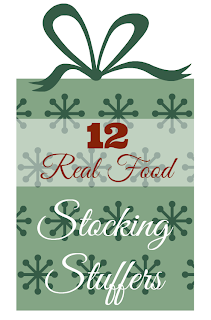 12 real food stocking stuffers - suzyhomemaker.net