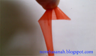 prakarya sedotan plastik bintang segitiga
