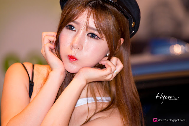 2 Song Ju Ah - Seoul Auto Salon - very cute asian girl-girlcute4u.blogspot.com